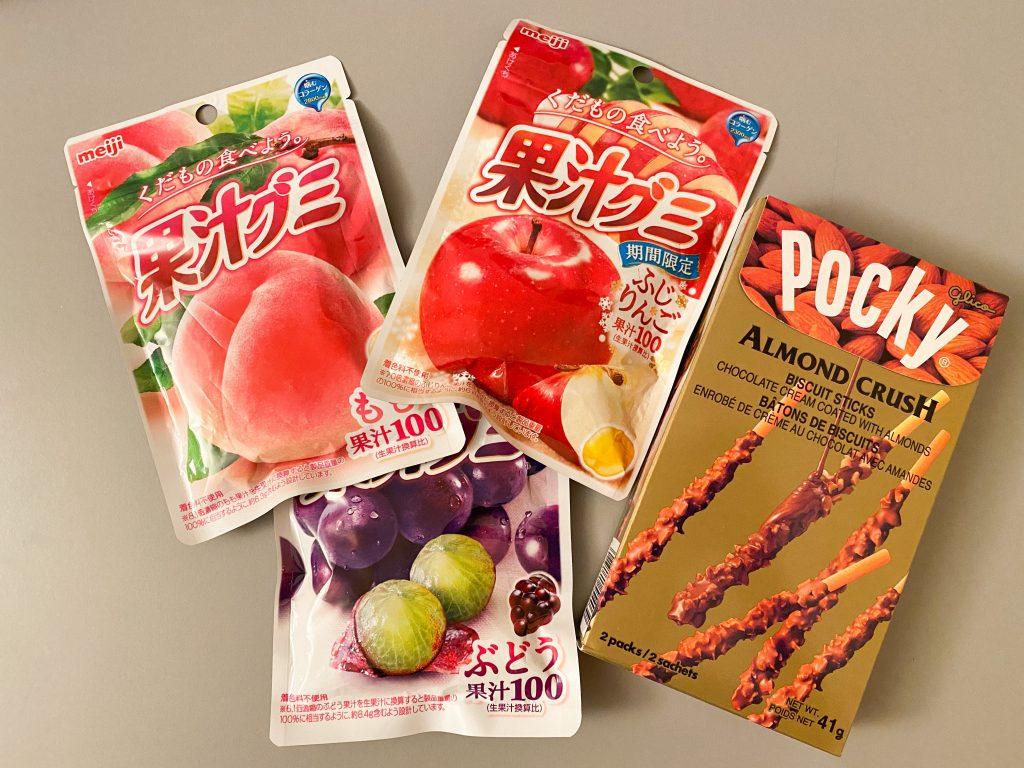Sweet Japanese Snacks - Gummies and Pocky
