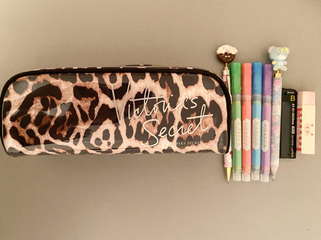 Stationary - Pencil Case, Pencil, Highlighter, Eraser, Led