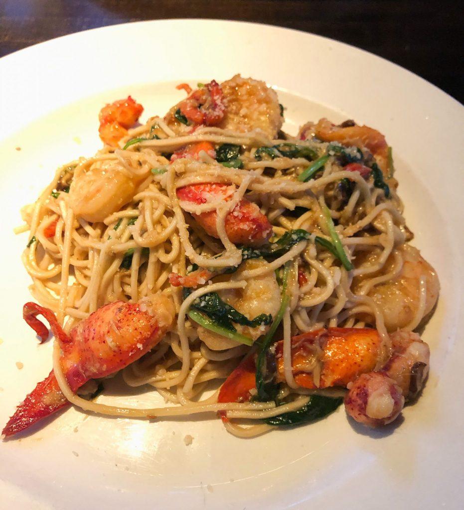 Yardhouse - Lobster Garlic Noodles (Fenway, Boston)