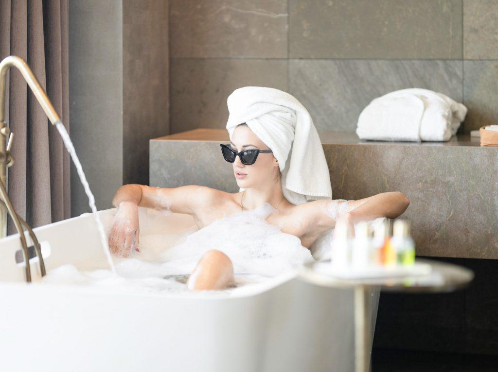 Take bubble bath - bad mood cure